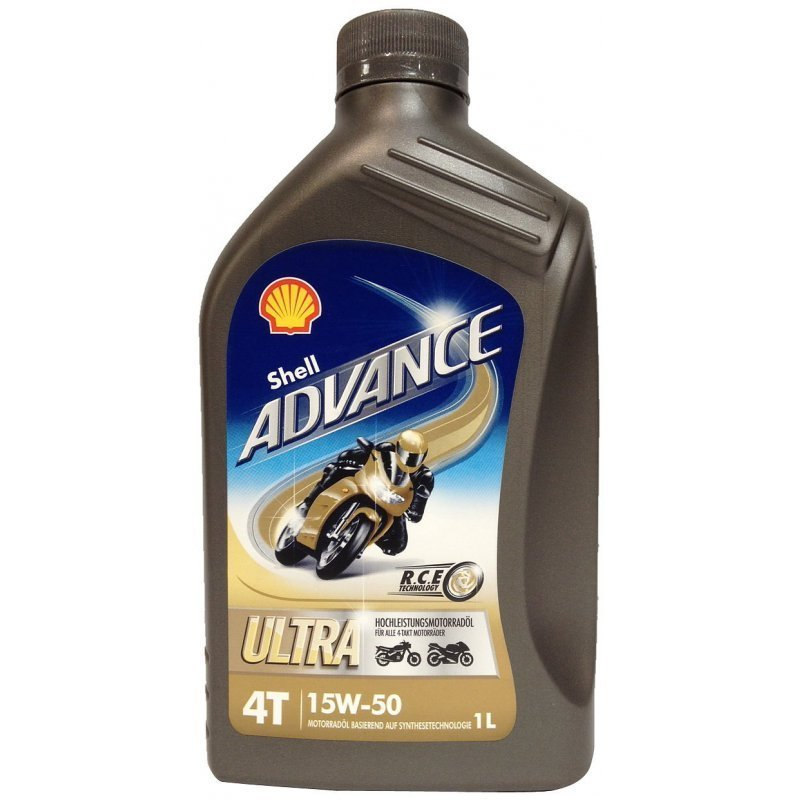 Shell Advance 4T Ultra 15W-50